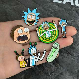 [BUY 3 FREE 1] high quality rick and morty enamel pin