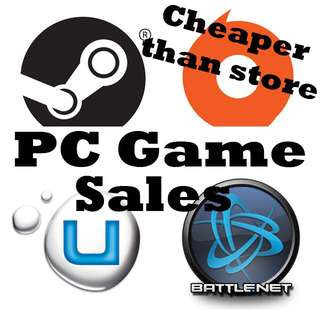 PC Games - Steam / Origin / UPlay / Battle.net