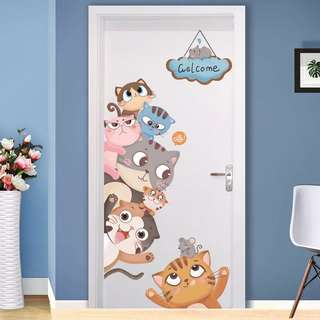 Door stickers🎀wall stickers