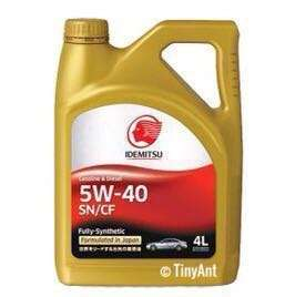 (Sale) Idemitsu SN/CF Engine Oil (5W-40)