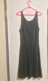 Dress black h n m