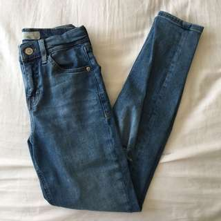 Topshop High Waisted Jeans