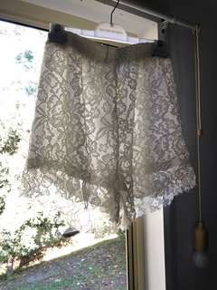 Sabo skirt lace shorts