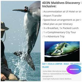 4D3N MALDIVES DISCOVERY MUSLIM PACKAGE