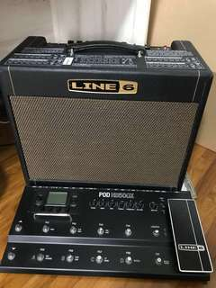 Line 6 Dream Rig ( without variax guitar )
