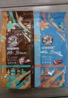 伯朗咖啡豆450g(現貨)