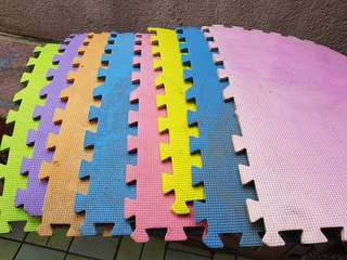 Puzzle mat for babies