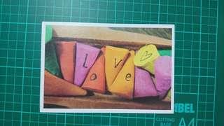 Love theme postcard L01