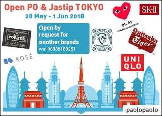 Open PO & Jastip TOKYO