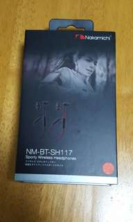 Nakamichi Earphones (NM-BT-SH117-RD)