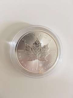 Canadian Maple Silver Coin 1oz