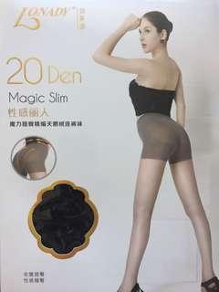 全新 20 Den Magic Slim 天鵝絨連褲襪