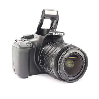 Canon EOS 1100D with 18-55mm kitlens