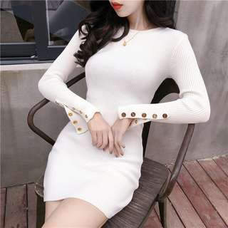 BN Slim Knitted Dress