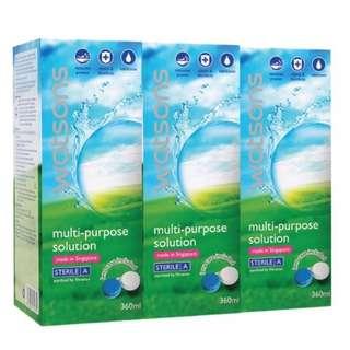 Watson multi-purpose solution 360ml 3 pack