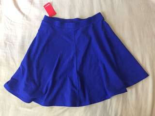 Forever 21 Royal Blue Skater Skirt