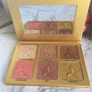 Jeffree Star 24 Karat Gold Palette