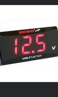 Red KosoVoltmeter