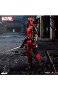 Mezco toyz one:12 deadpool 死待 marvel legends 美國隊長 Shf Figures 1/12 美玩 Medicom mafex Hottoys 扭蛋 模型 食玩