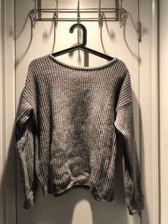 Brandy Melville Sweater (Grey)