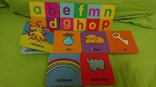 Preloved My ABC Mini Library (6mini books)