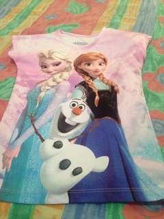 Frozen Elsa and Anna disney shirt