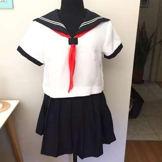 🆕 Japanese Schoolgirl Uniform Cosplay