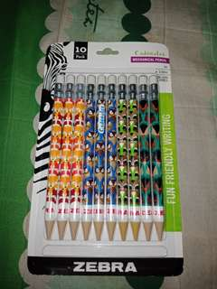 Zebra Cadoozlees Mechanical Pen 10ct
