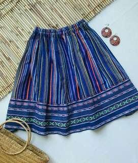 Ethnic Midi Skirt