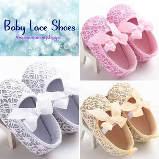 🎀 Lace Baby Shoes 🎀