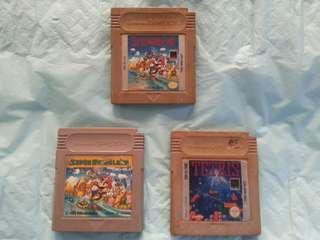 Authentic Gameboy Cartridge