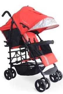 BNIB Tinyworld Tandem Twin Stroller