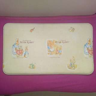 真品正版 Peter Rabbit 彼德兔 全包膠廚房地墊 75×43cm