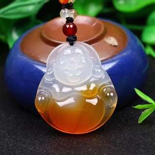 Natural beauty of ice type jade pendant pendant.
