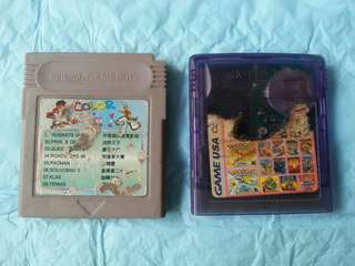 Gameboy Multi cartridges for sale