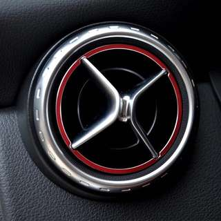 Mercedes Benz Red Air Con Rings