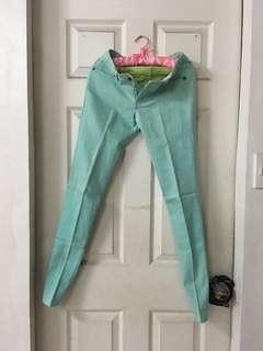 Human mint green jeans