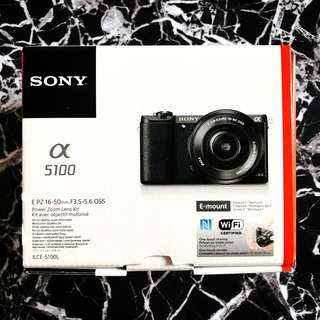 SONY A5100 Brown (NEW)