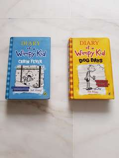 💲Sale Diary Of A Wimpy Kid Books
