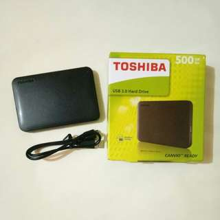 EXTERNAL HARD DISK 500GB WITH PS VITA HENKAKU GAMES + PSP GAMES