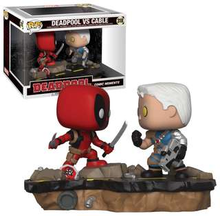 Deadpool vs Cable Funko Pop! Order now!