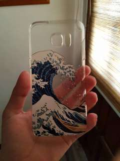Wave Designed Case for S7 Edge