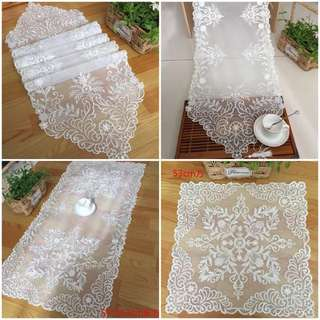 Table Runner tablecloth for coffee /side /dining table