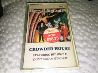 Crowded House Cassette Rare