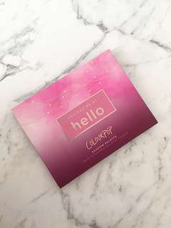 "Colour pop ""You Had Me At Hello"" Eyeshadow Palette"