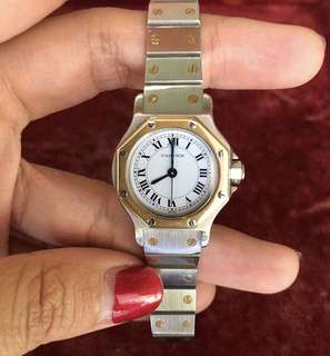 cartier watch second authentic