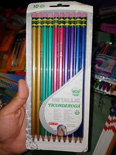Dixon Ticonderoga Metallic Wood-Cased #2, 10ct