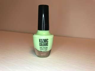KOZMIC COLOURS Mint Green Nail Polish