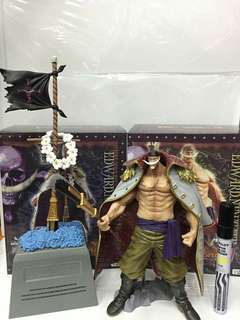 White beard and his grave set! One Piece Figure