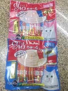 (現貨)Ciao貓貓糊仔零食 20條